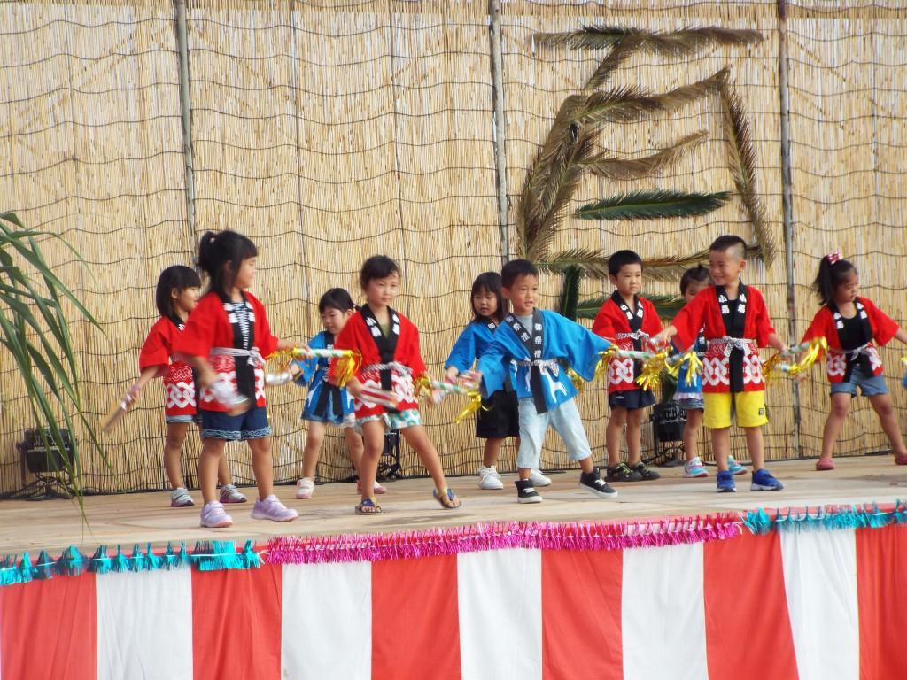 伊仙町 夏祭り – わかば保育園